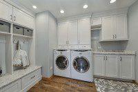 Homer Glen Laundry Mudroom - Sebring Design Build