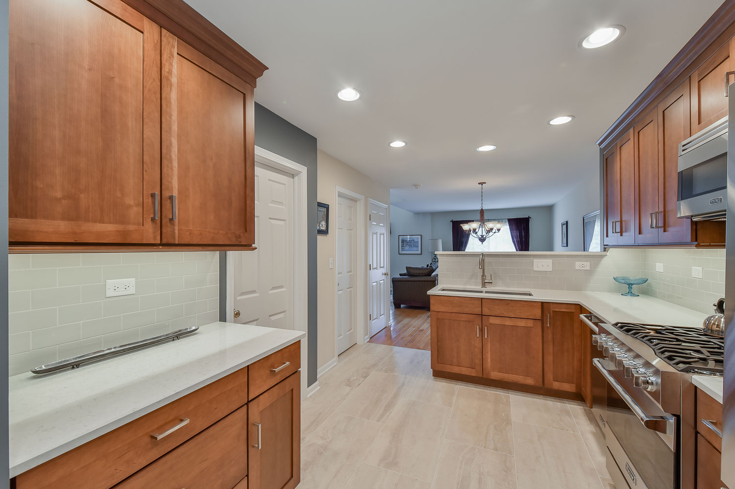 Gorgeous Kitchen Renovation In Potomac Maryland: Richard's Kitchen Remodel Pictures