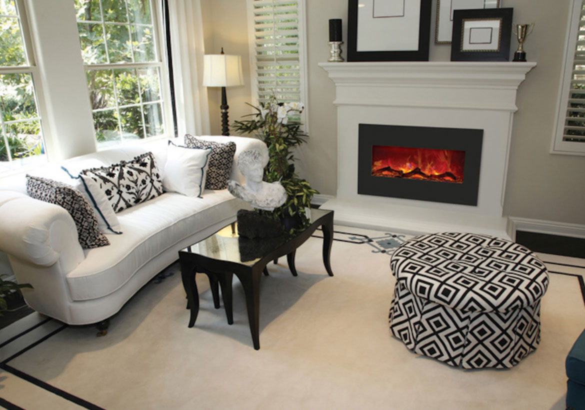 Living Rooms With Fire Places Ideas