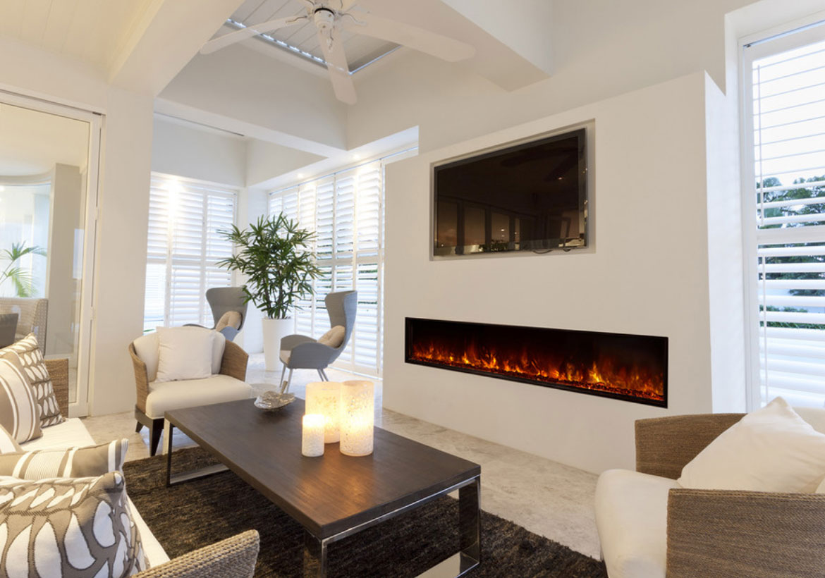 Modern electric fireplaces are an excellent and popular alternative if you are looking to add that special cozy touch to your home when you are not ready to take on the task of hauling firewood and cleaning a traditional fireplace.