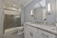 Naperville Basement Bathroom Remodeling Project - Sebring Design Build