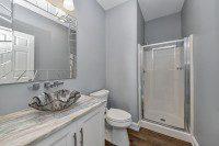 Naperville 3/4 Hall Bathroom Remodel - Sebring Design Build