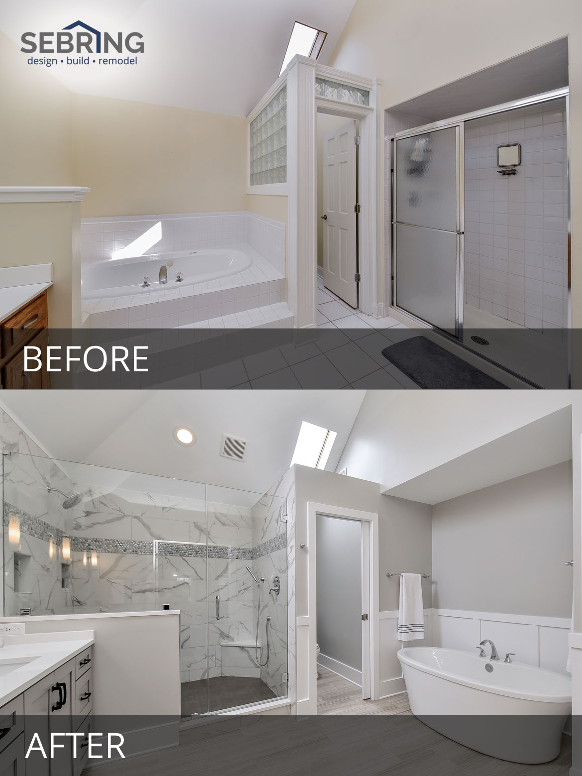 Sarah Ray S Master Bathroom Before After Pictures Home