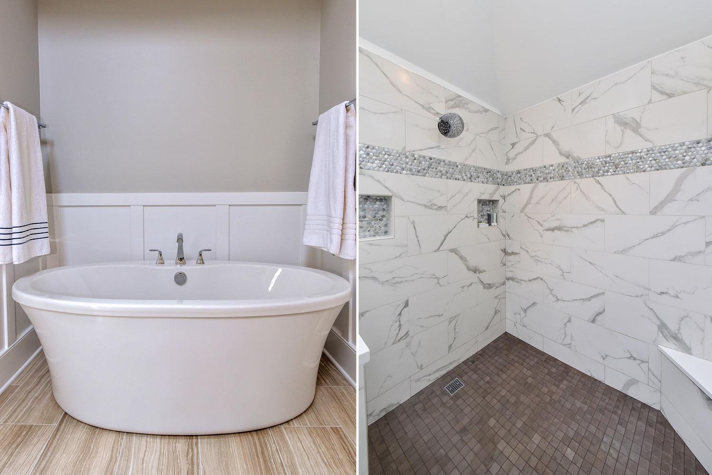 Naperville Master Bathroom Remodeling Project - Sebring Design Build