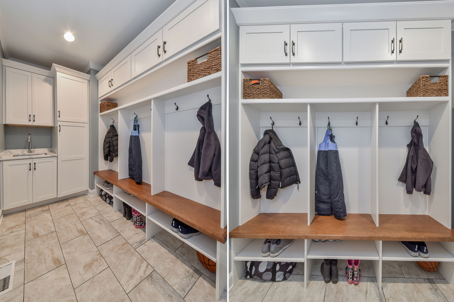 View Larger Image Naperville Mudroom Cubbies Laundry Room Attic Sebring Design Build