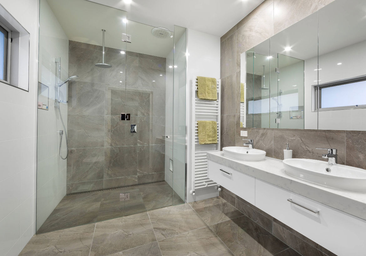 White Bathroom Remodel Ideas 21 Refreshing Curbless Showers And Their Benefits Home