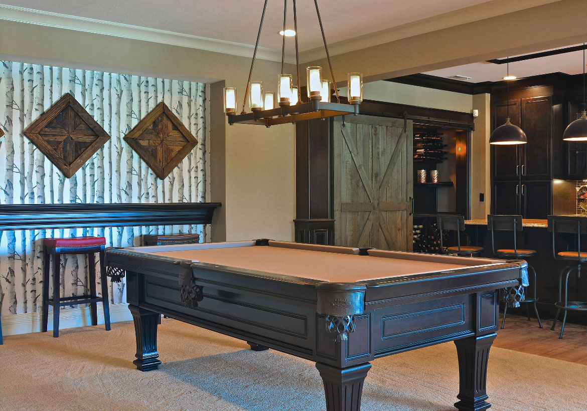 Cool Pool Table Lights To Illuminate Your Game Room Home - How much space do you need for a pool table
