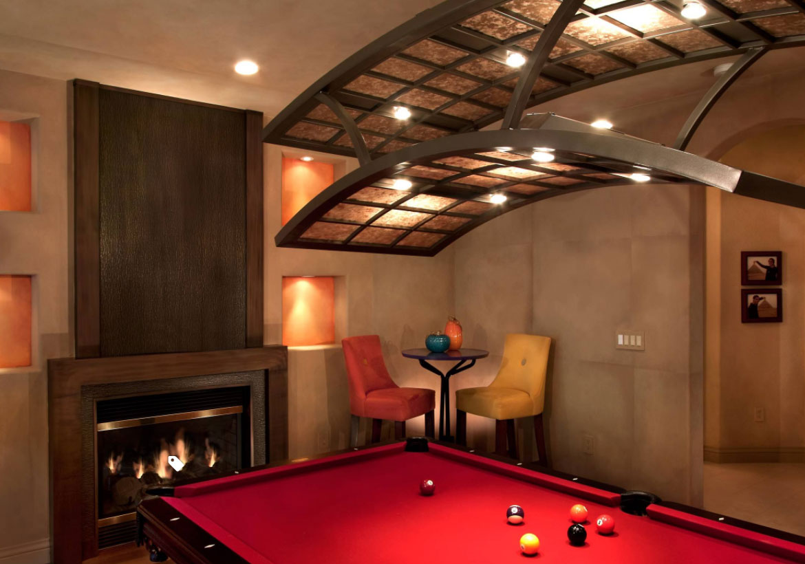 49 cool pool table lights to illuminate your game room home cool pool table lights to illuminate your game room sebring design build aloadofball Choice Image
