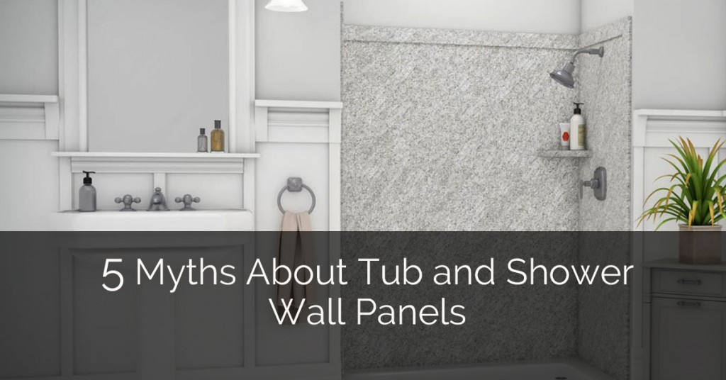 5 Myths About Tub And Shower Wall Panels | Home Remodeling Contractors | Sebring Design Build