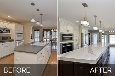 Dave Cathys Kitchen Before After Pictures Home Remodeling