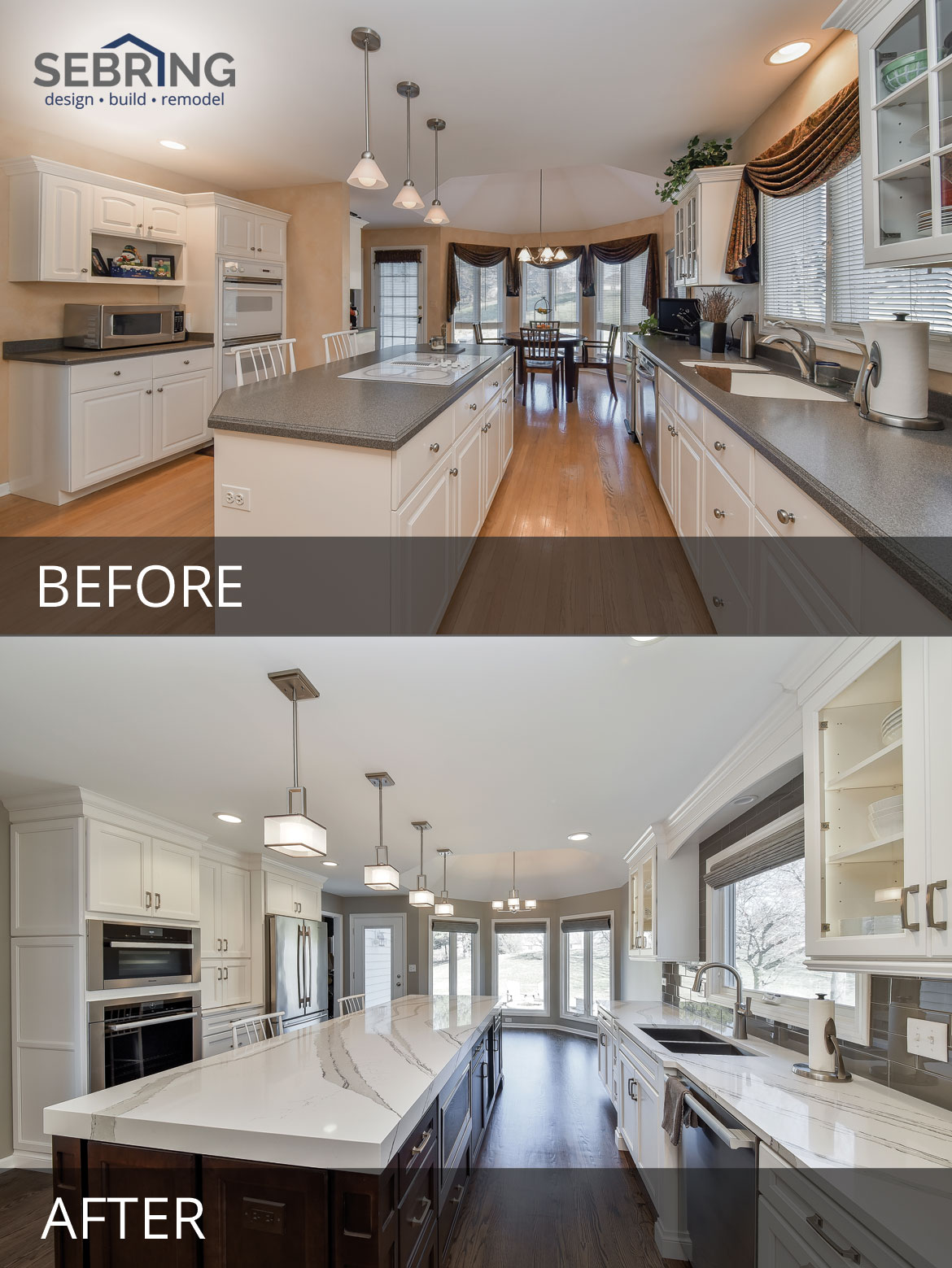 Naperville Kitchen Remodeling Before And After Pictures
