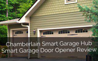 Chamberlain Smart Garage Hub Smart Garage Door Opener Review - Sebring Design Build