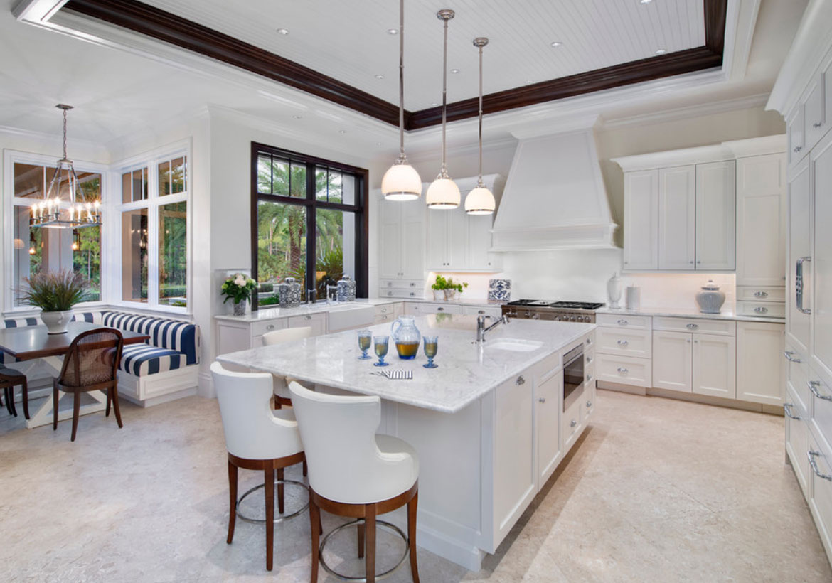 67 Desirable Kitchen Island Decor Ideas & Color Schemes | Home ...