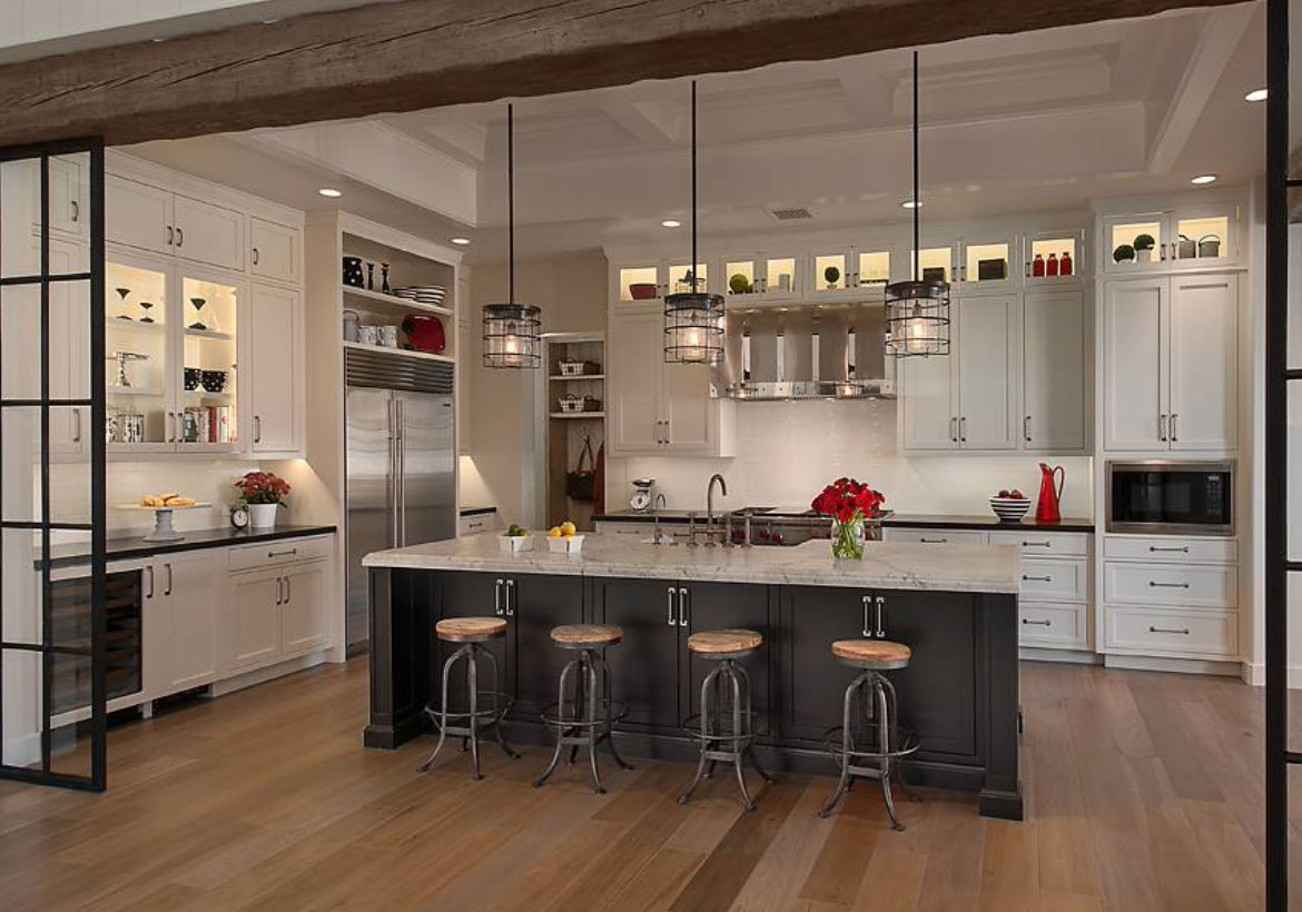 Desirable Kitchen Island Decor Ideas & Color Schemes -_Sebring Design Build