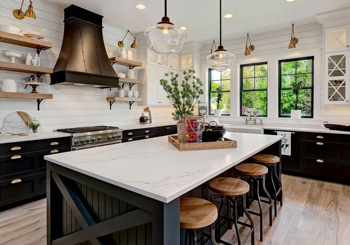 67 Desirable Kitchen Island Decor Ideas & Color Schemes ...