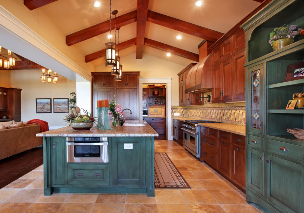 ideas for kitchen decorating colors