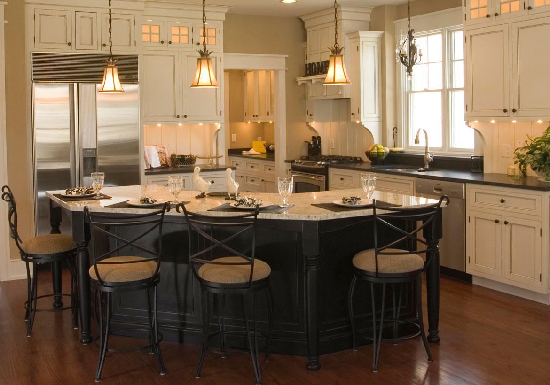 67 Desirable Kitchen Island Decor Ideas