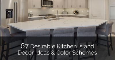 Desirable Kitchen Island Decor Ideas U0026 Color Schemes  _Sebring Design Build