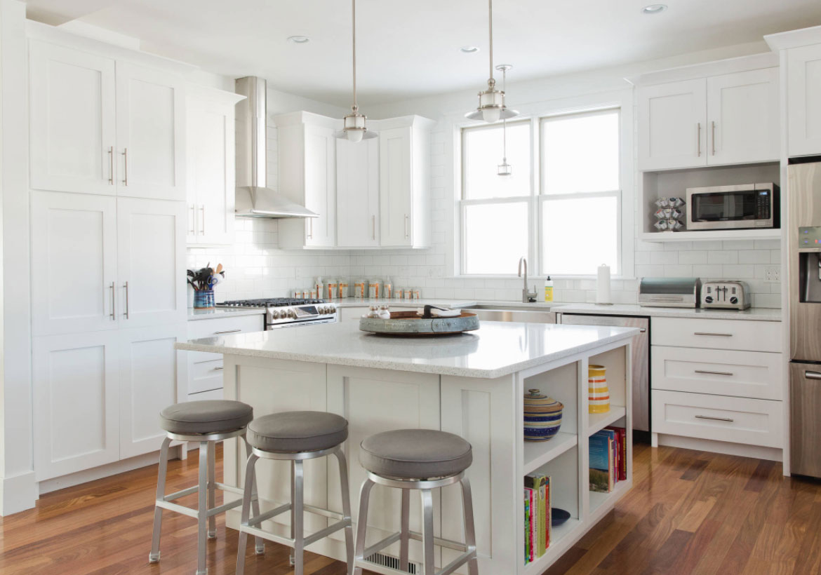 35 Fresh White Kitchen Cabinets Ideas To Brighten Your E