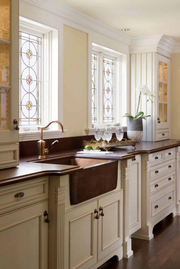 35 Fresh White Kitchen Cabinets Ideas, Make Distressed White Kitchen Cabinets