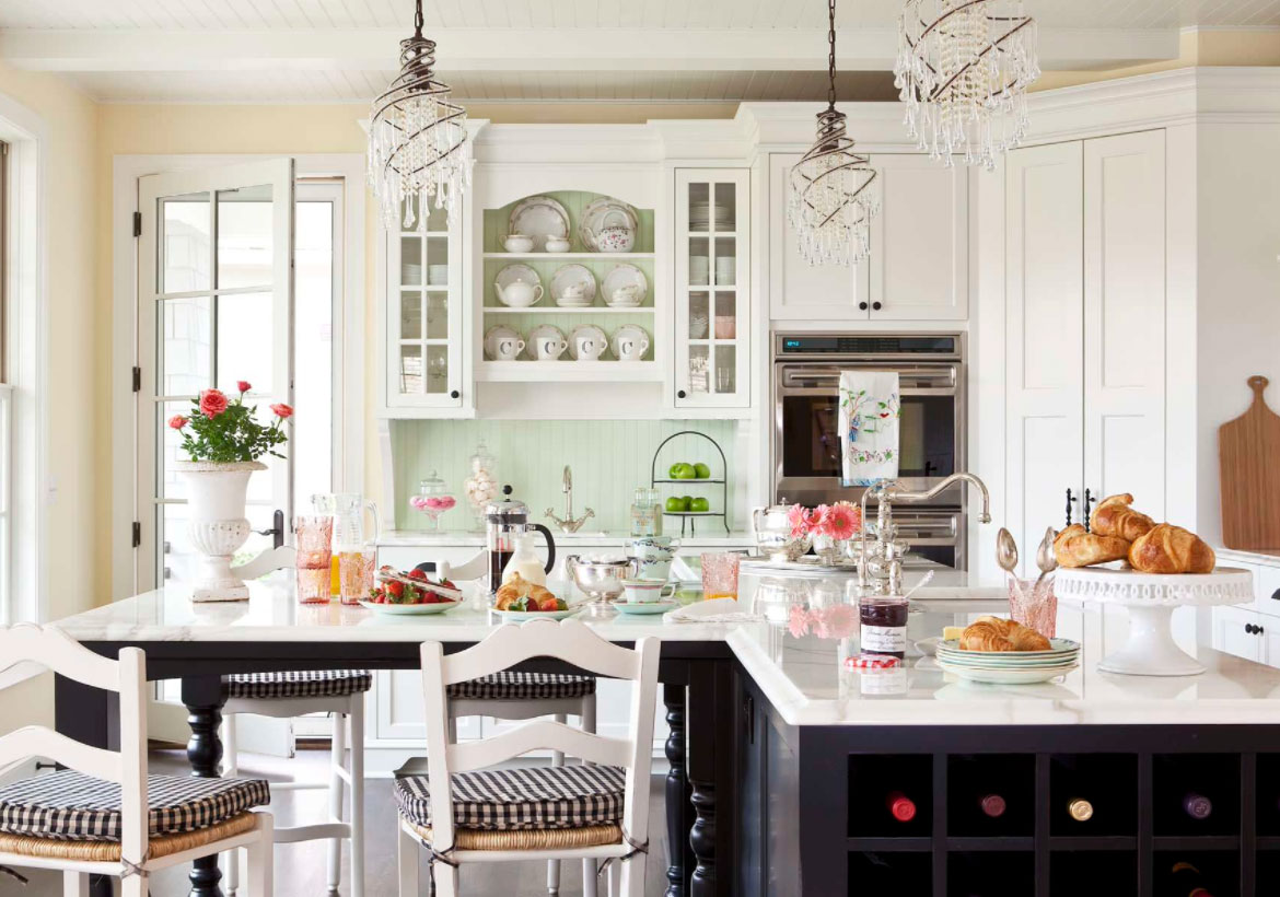 35 Fresh White Kitchen Cabinets Ideas to Brighten Your Space | Home ...