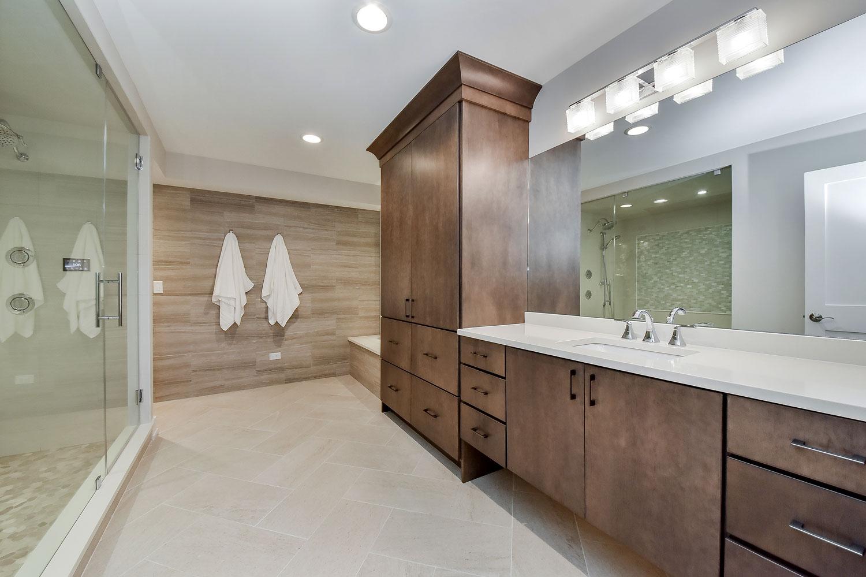 Gregg Merrianns Bathroom Remodel Pictures Home Remodeling - Building a basement bathroom