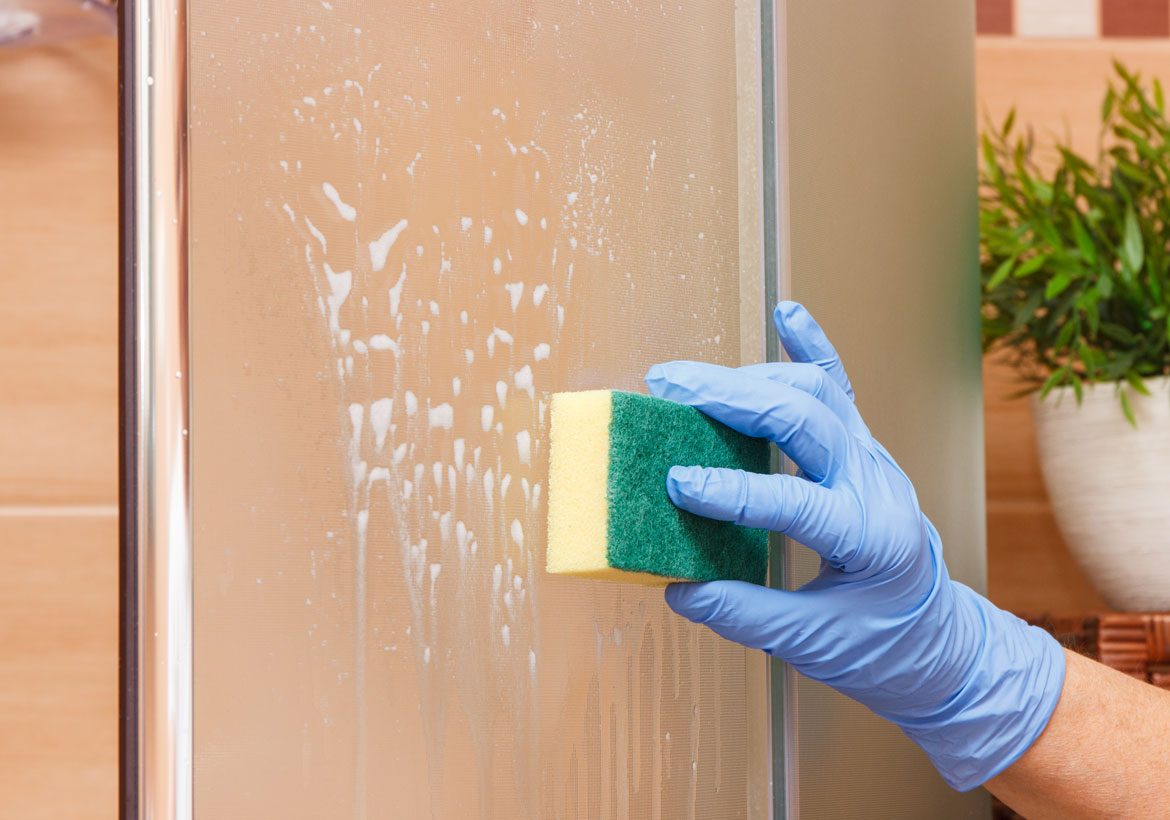 How to Clean Soap Scum Off Glass Shower Doors - Sebring Design Build