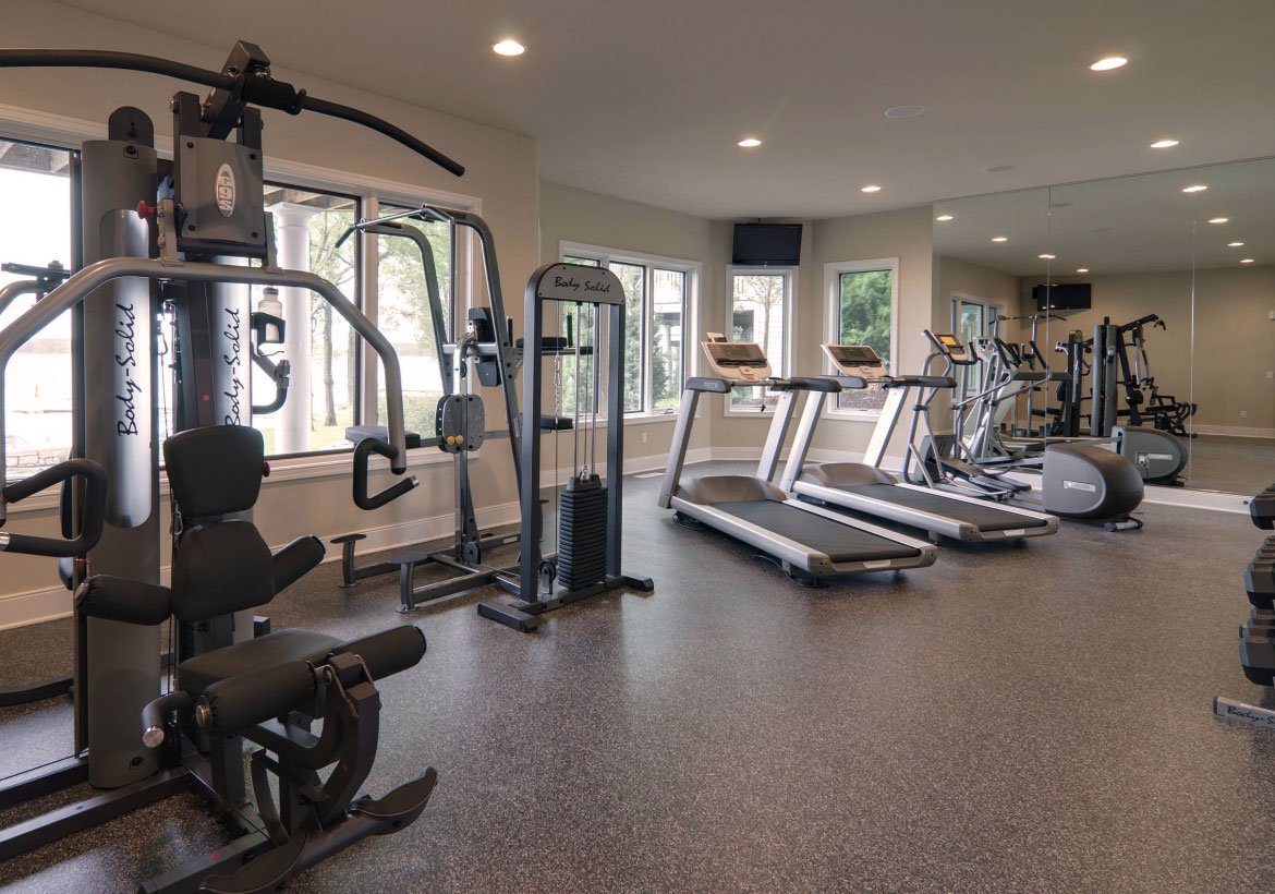 Best Home Gym Flooring & Workout Room Flooring Options - Sebring Design Build