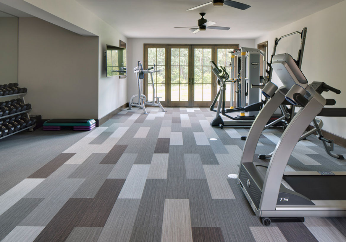 Home Gym Design: Best Home Gym Flooring & Workout Room Flooring Options