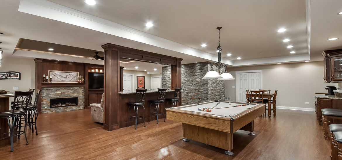 Bolingbrook Family Completes Dream Basement Finishing Project - Sebring Design Build