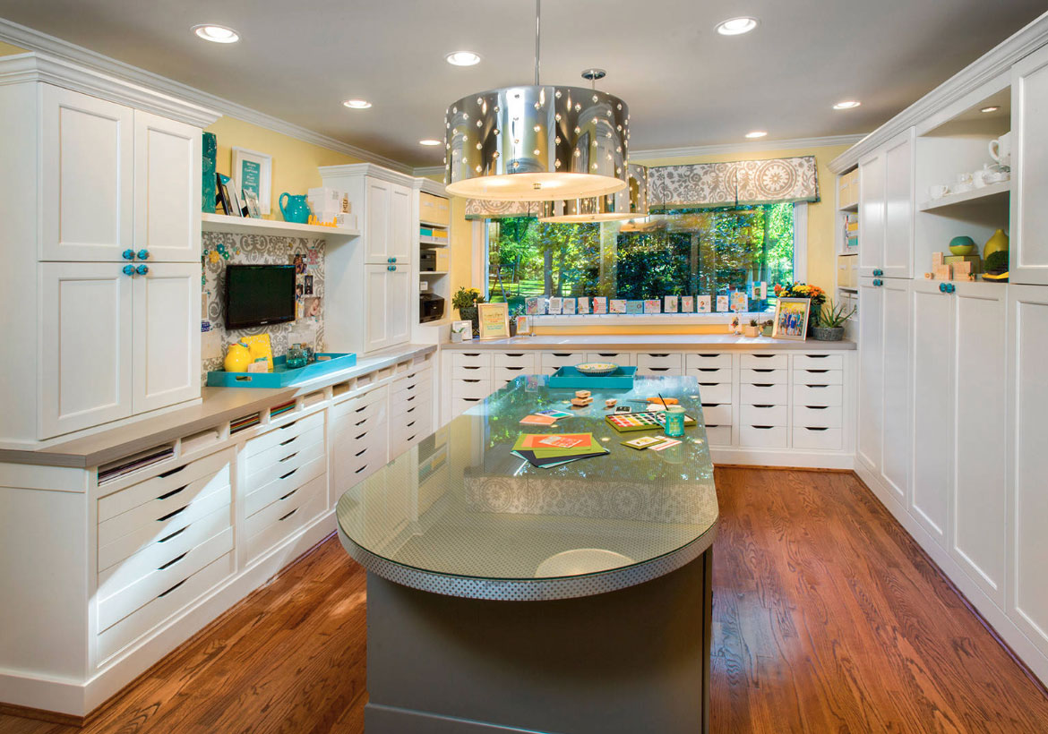 43 Clever Amp Creative Craft Room Ideas Home Remodeling
