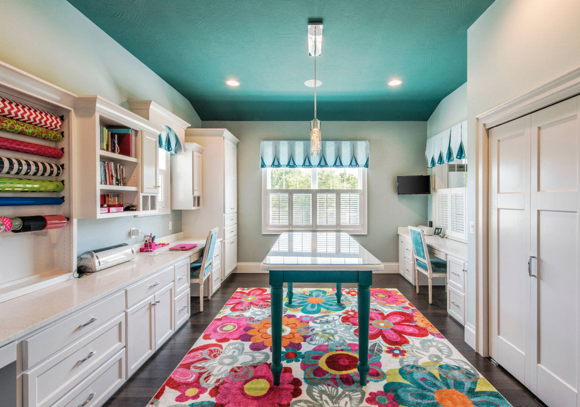 43 Clever & Creative Craft Room Ideas | Home Remodeling Contractors