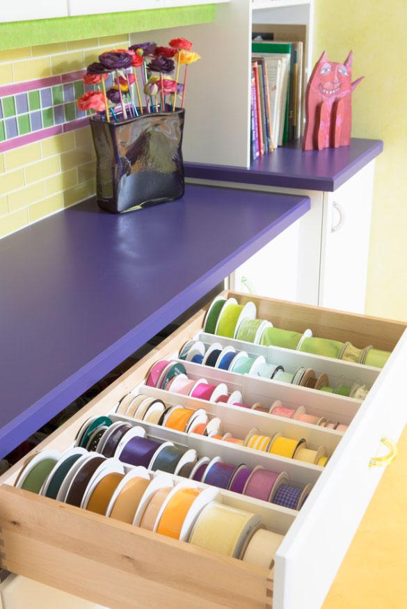 Clever U0026 Creative Craft Room Ideas   Sebring Design Build