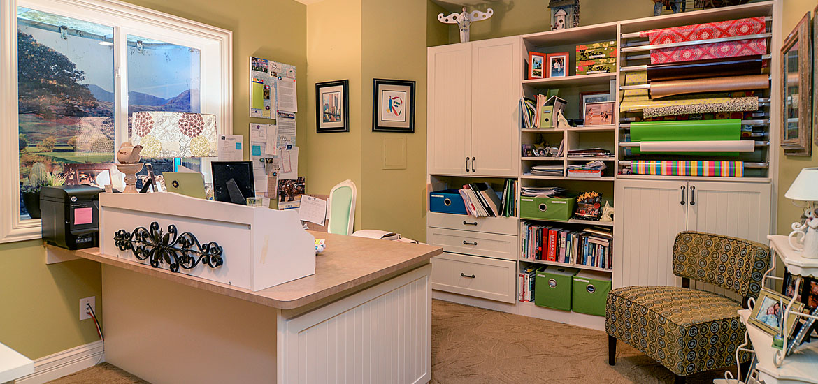 43 Clever & Creative Craft Room Ideas | Home Remodeling ...