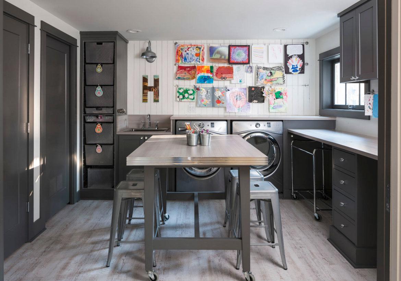 Clever Creative Craft Room Ideas Sebring Design Build