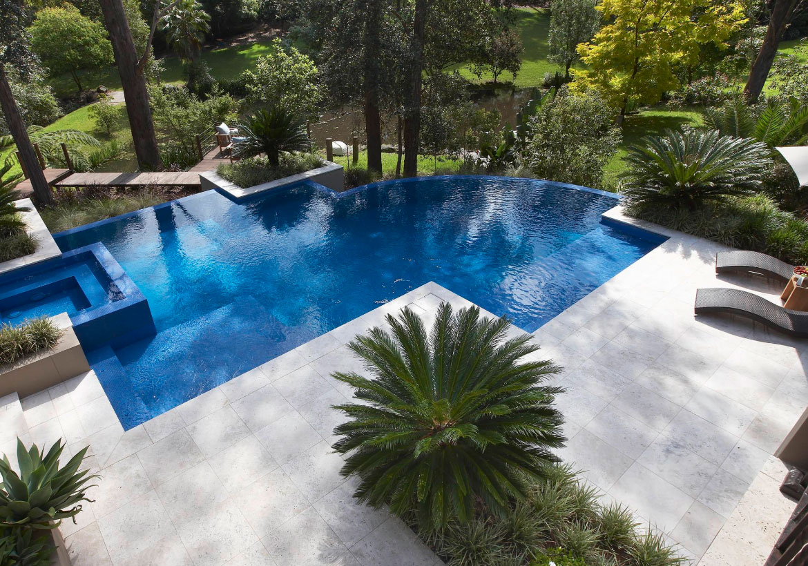 63 Invigorating Backyard Pool Ideas