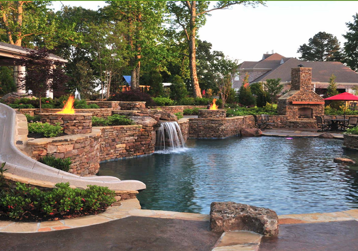 63 Invigorating Backyard Pool Ideas Landscapes