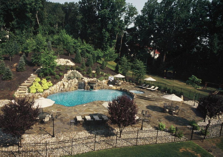 Invigorating Backyard Pool Ideas & Pool Landscapes Designs - Sebring Design Build