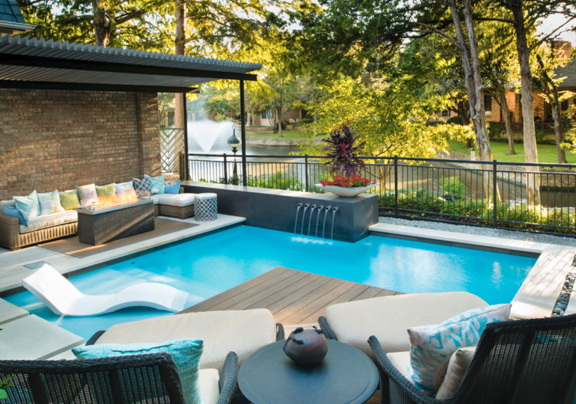 Backyard Pool Deck Ideas 63 invigorating backyard pool ideas & pool landscapes designs | home