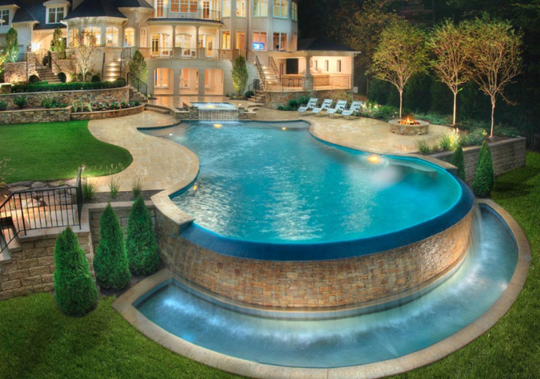 63 Invigorating Backyard Pool Ideas & Pool Landscapes ...
