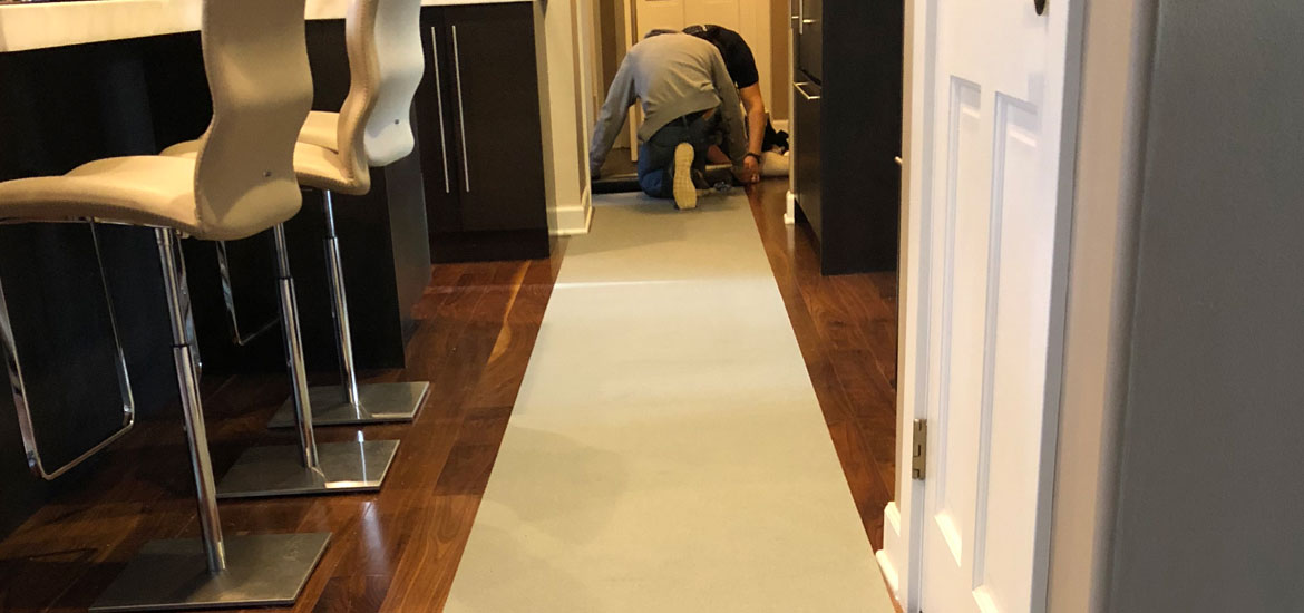 Your Guide To Temporary Floor Protection During