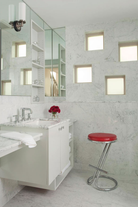 Elegant Carrara Marble Tile Ideas & Marble Tile Types - Sebring Design Build