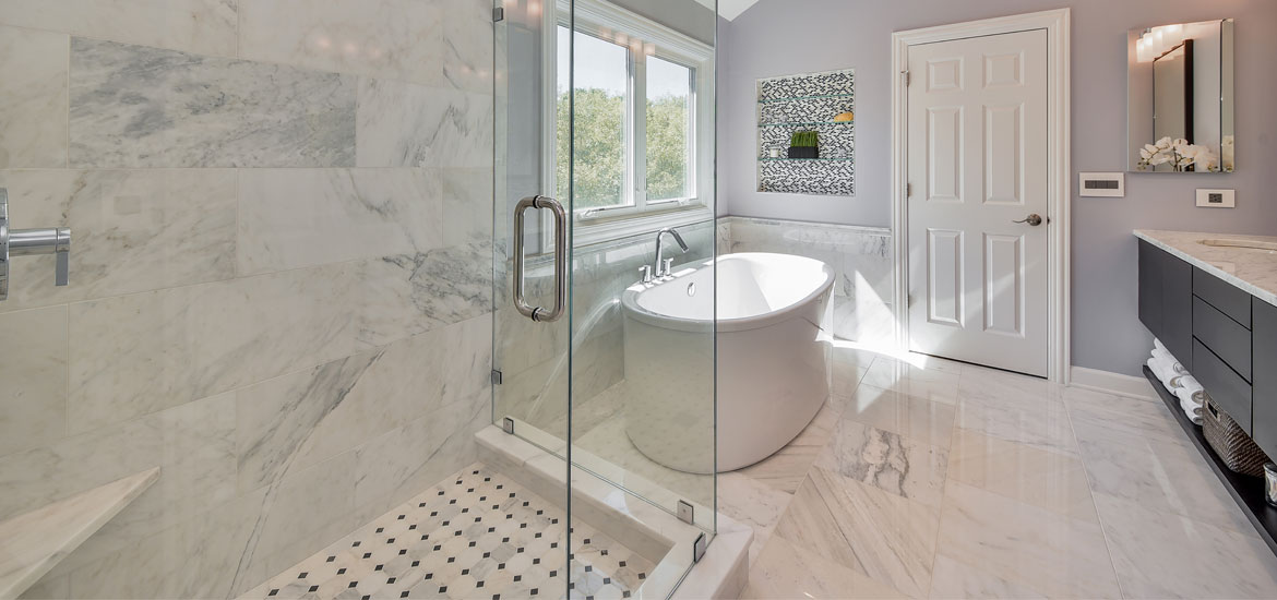 27 Elegant Carrara Marble Tile Ideas