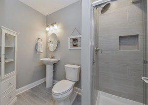 Downers Grove Basement Bath - Sebring Design Build