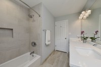 Naperville Hall Bathroom Update - Sebring Design Build