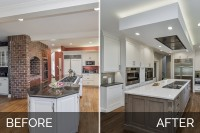 Wheaton Kitchen Remodel Before & After - Sebring Design Build