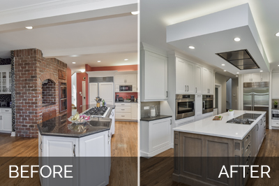 Gregg Merrianns Kitchen Before After Pictures Home Remodeling