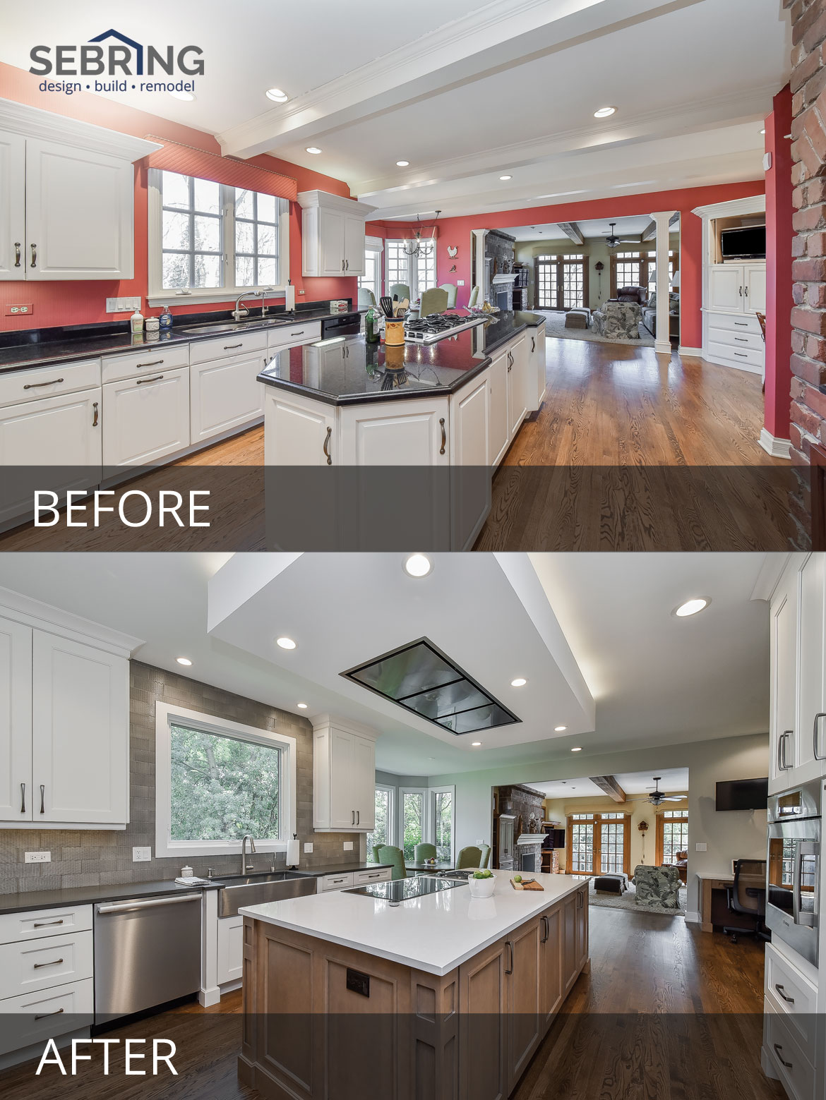 gregg merriann s kitchen before after pictures home remodeling