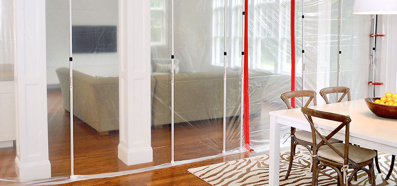 ZipWall®Dust Barrier System Review U0026 Setup Guide   Sebring Design Build