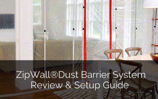 ZipWall®Dust Barrier System Review & Setup Guide - Sebring Design Build